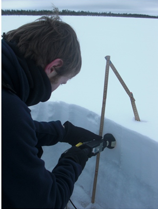 Pamiary śniegu w Finlandii