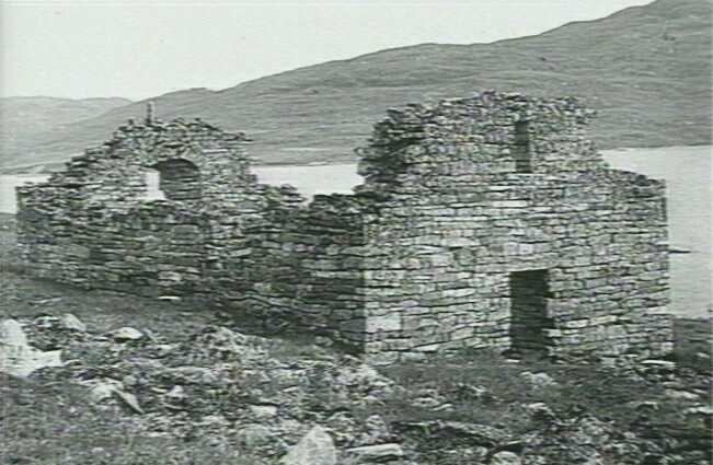 Ruiny kościoła na Grenlandii