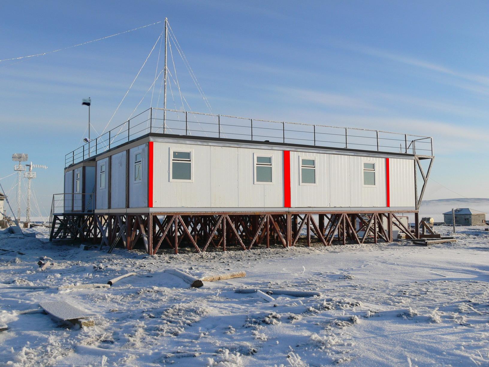 Stacja meteorologiczna w Tiksi