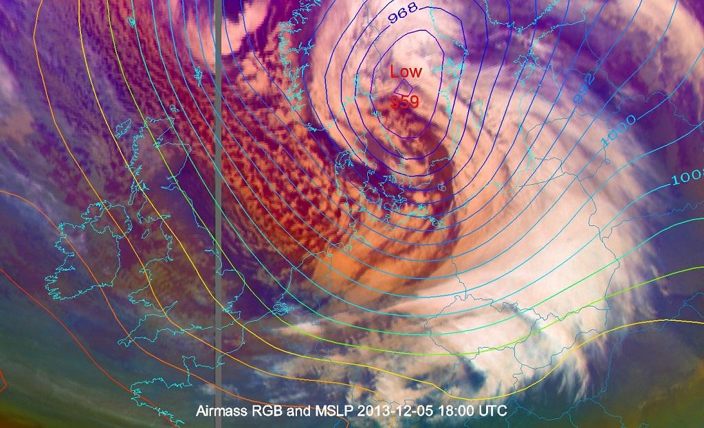 Orkan Xaver (5 grudnia 2013)