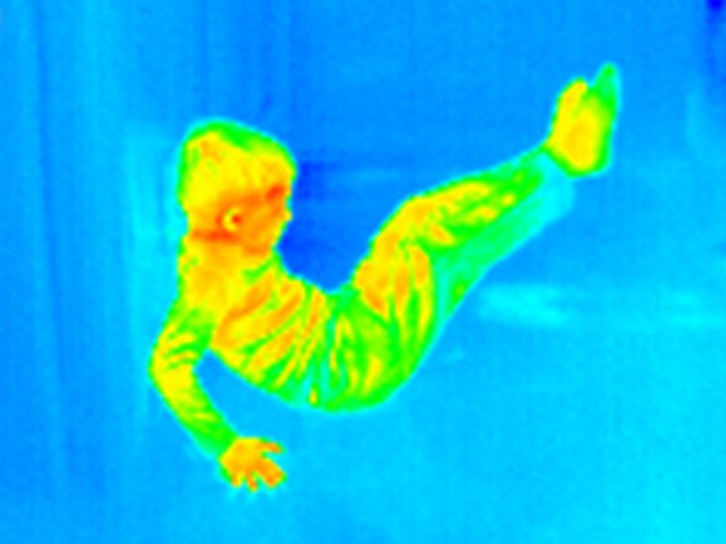 Obraz termiczny w podczerwieni