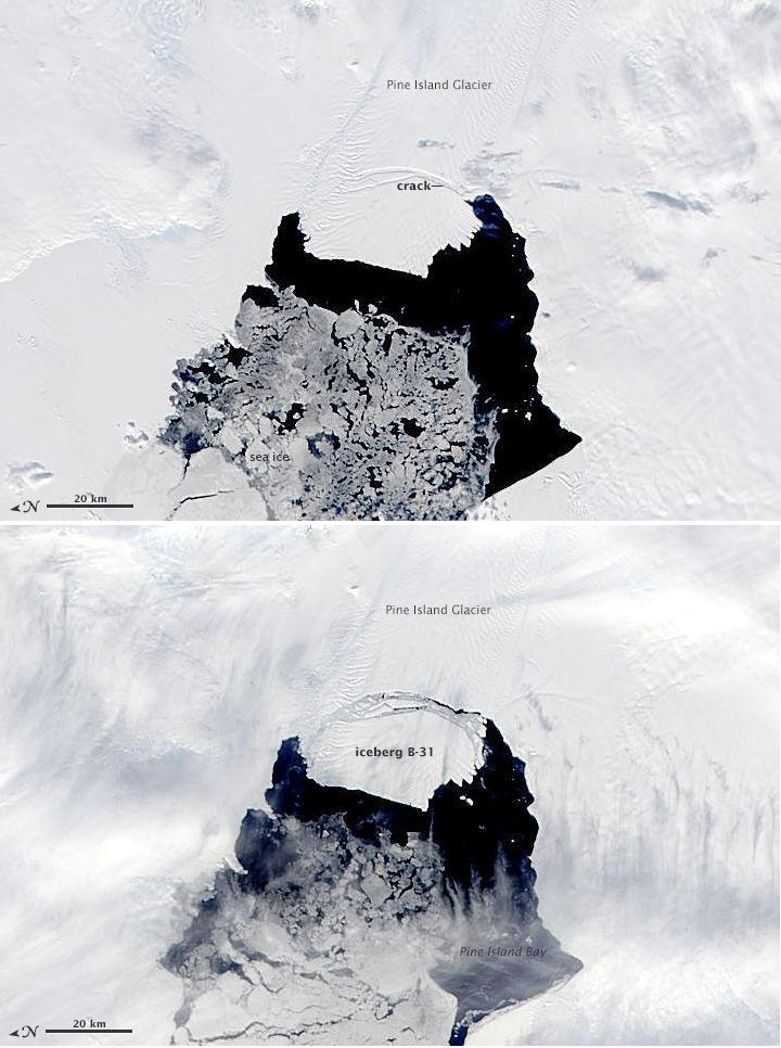 Góra lodowa B-31