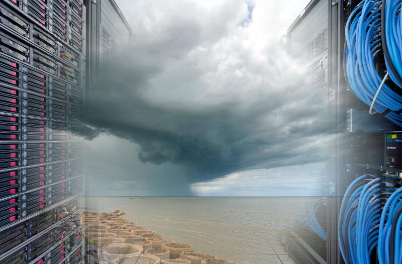 Model klimatu - impresja