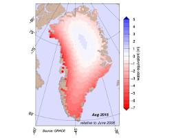 Mapka Grenlandii