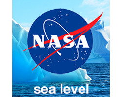 NASA sea level logo