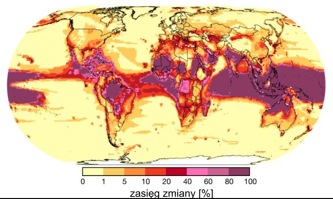 Zmiana klimatu a ekosystemy: zasięg zmiany bioróżnorodności