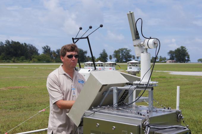 Pomiary promieniowania słonecznego i grubości optycznej aerozolu.
