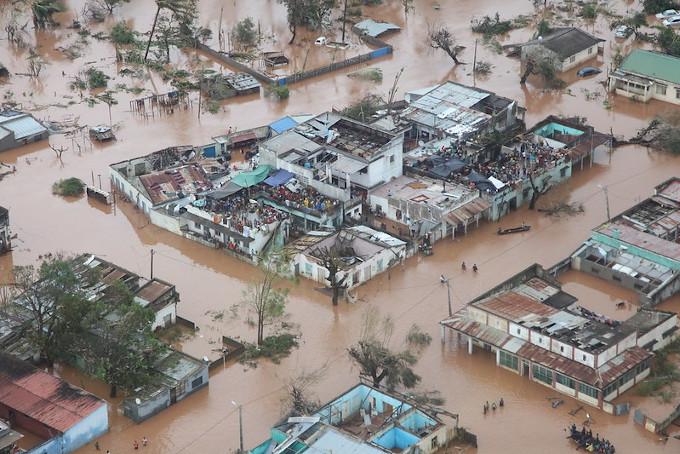 Katastrofy naturalne: skutki cyklonu Idai w Mozambiku, 2019.