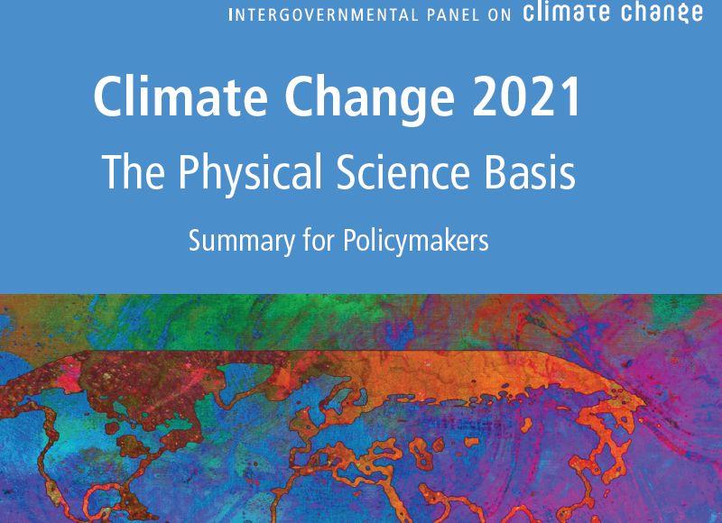 6 raport IPCC - fragment okładki